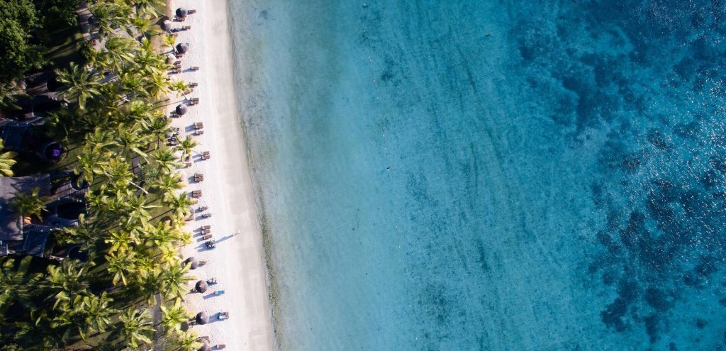 The most beautiful beaches in the west of Mauritius